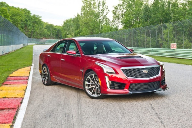 The 2016 Cadillac CTS-V comes with a 6.2-liter V8 supercharged engine good for 640 horsepower