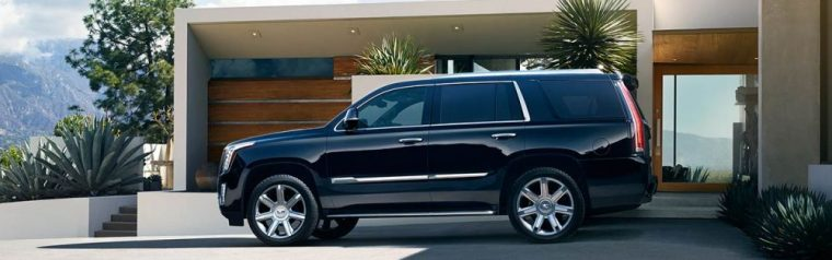 The 2016 Cadillac Escalade ESV features 20-inch 7-spokechrome plated wheels
