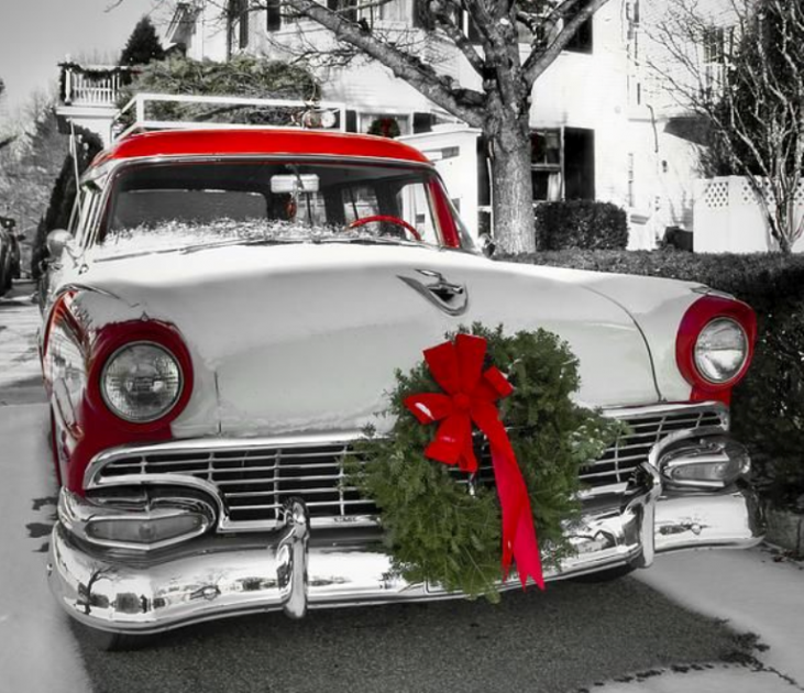 Car Decoration Wreath