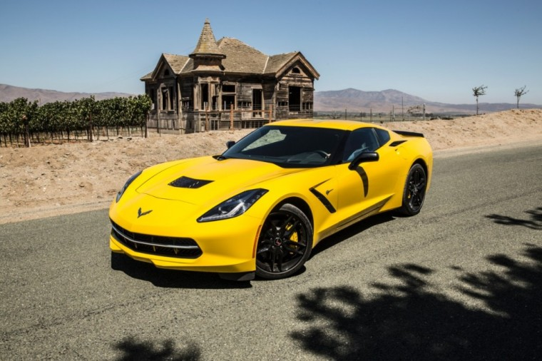The 2016 Chevrolet Corvette Stingray packs a 6.2-liter V8 engine good for up to 460 horsepower