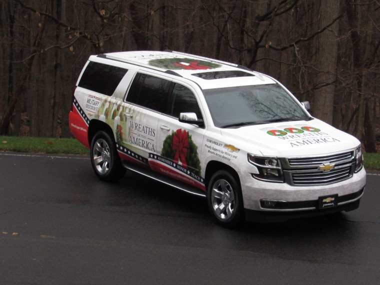 Chevrolet supports Wreaths Across America for Christmas
