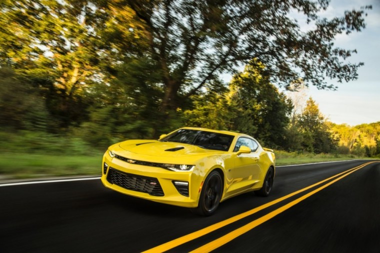 The 2016 Chevrolet Camaro SS features a• 6.2-liter V8 direct injection engine good for 455 horsepower