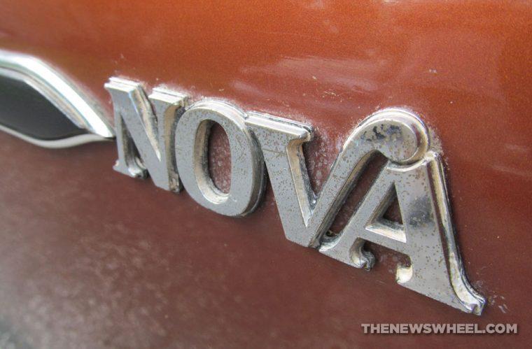 Classic 1978 Chevy Nova Coupe badge