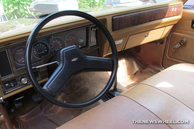 Classic 1978 Chevy Nova Coupe interior