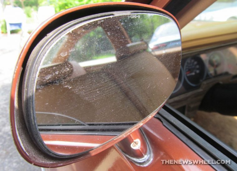 Classic 1978 Chevy Nova Coupe side mirror