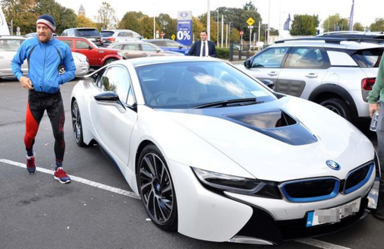 Conor McGregor's BMW i8 is powered by a total of three engines