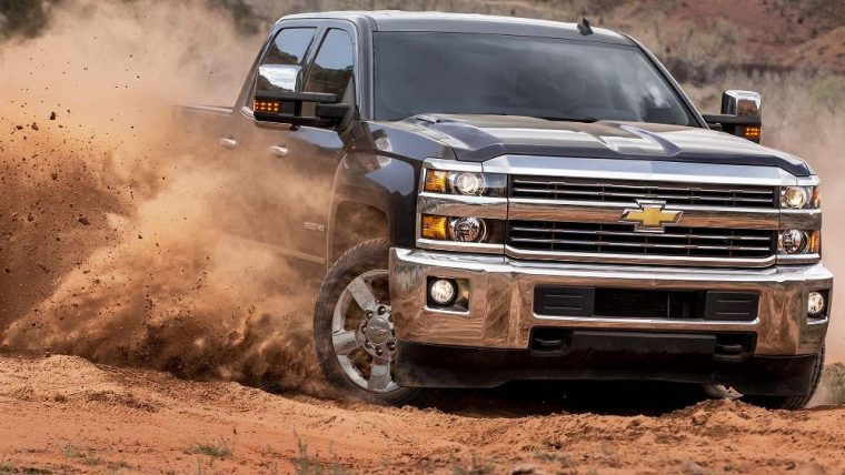 The 2016 Chevrolet Silverado comes in four different trim levels