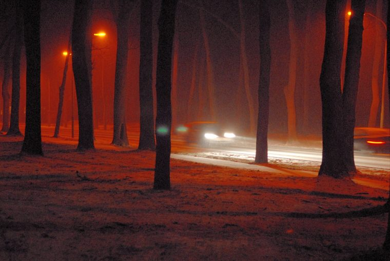 headlights snow rain driving tips