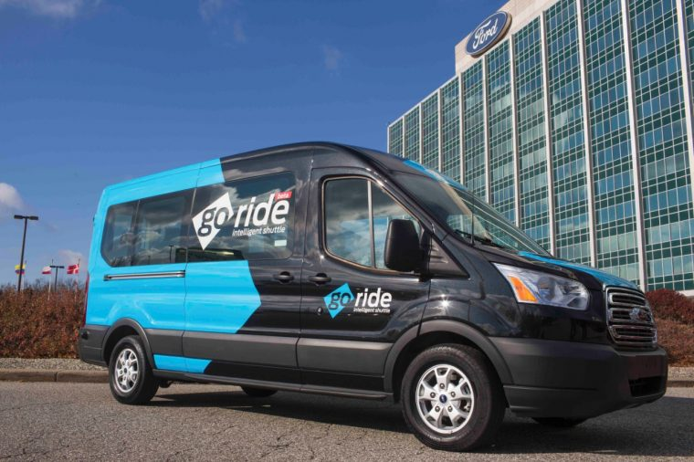 Ford Dynamic Shuttle Transit Van