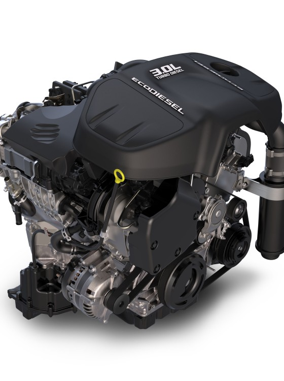 Fiat Chrysler's EcoDiesel V6 Engine Earns Recognition on Wards 10 Best Engines List | The News Wheel