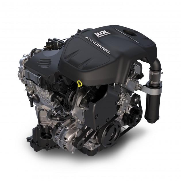 3.0 liter EcoDiesel V6