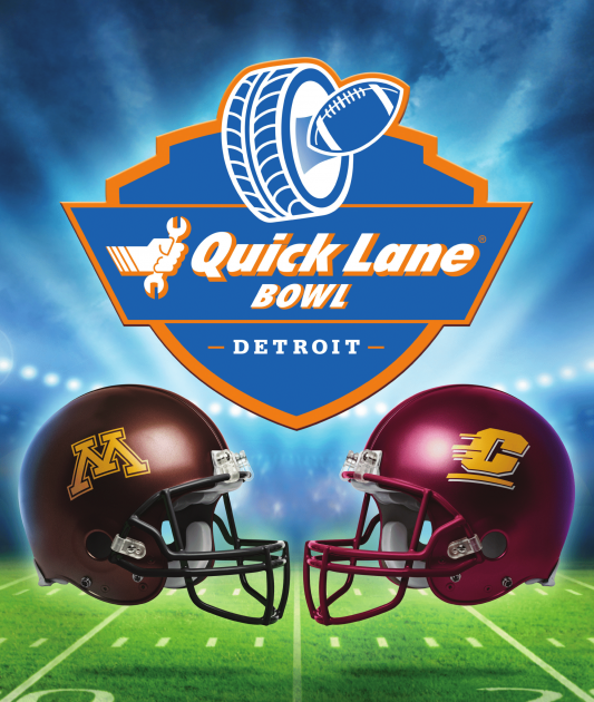 2015 Ford Quick Lane Bowl Poster