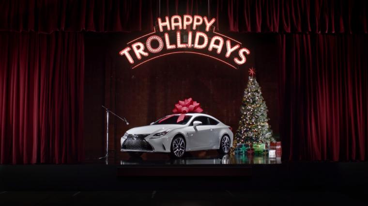 Happy Trollidays Lexus