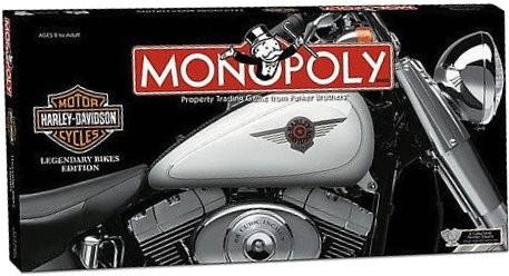 Harley Davidson Bike Edition Monopoly board game