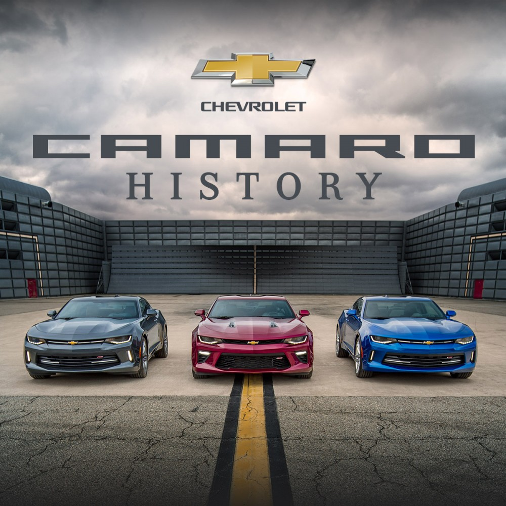 Infographic Chevrolet Camaro History The News Wheel