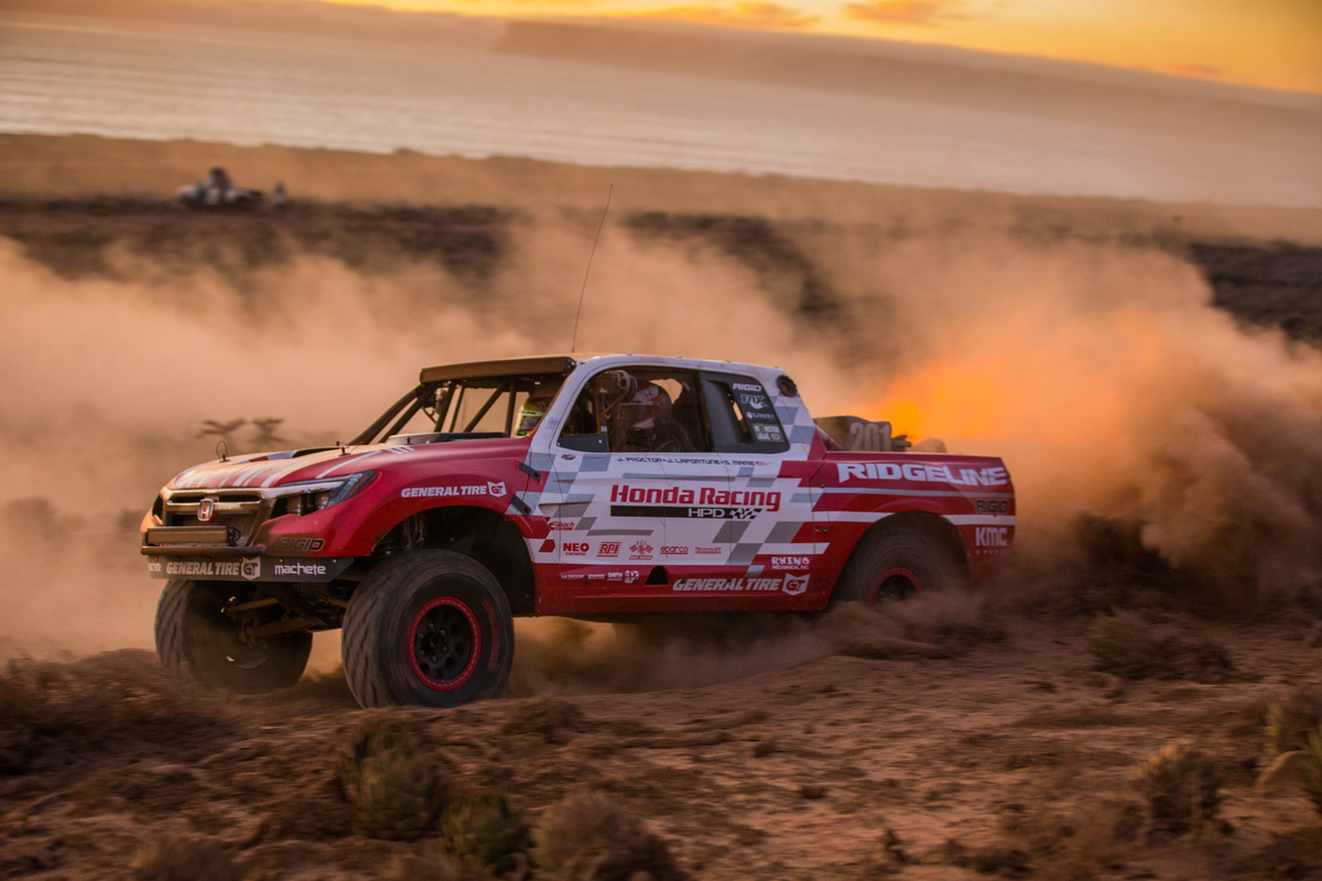 Honda Ridgeline Baja Race Truck Completes First Baja 1000 - The News Wheel