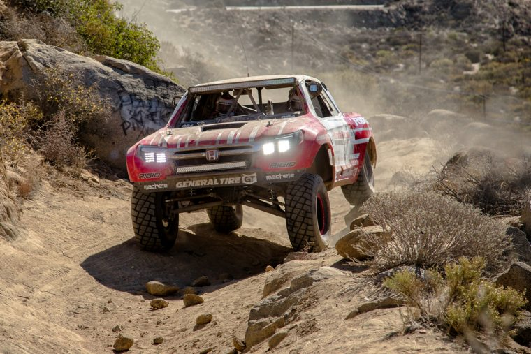 Honda Ridgeline Baja Race Truck at 2015 Baja 1000