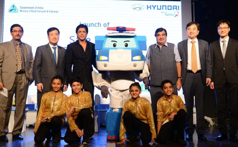 Hyundai India Safety School for Children SRK Robocar Poli