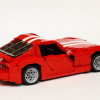 Lego Dodge Viper Side View