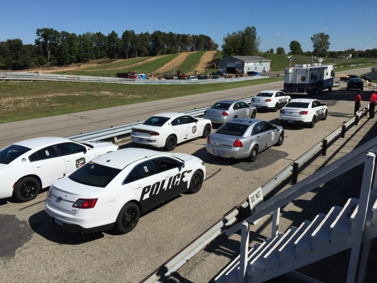 Ford EcoBoost Police Interceptor Sedan Testing