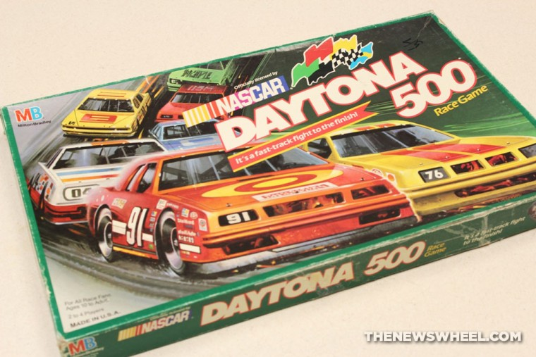NASCAR Daytona 500 1990 board game review box