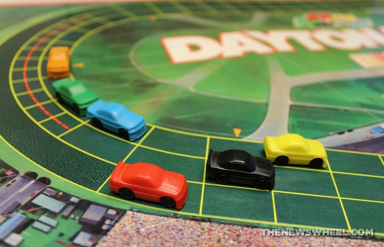 NASCAR Daytona 500 1990 board game review cars