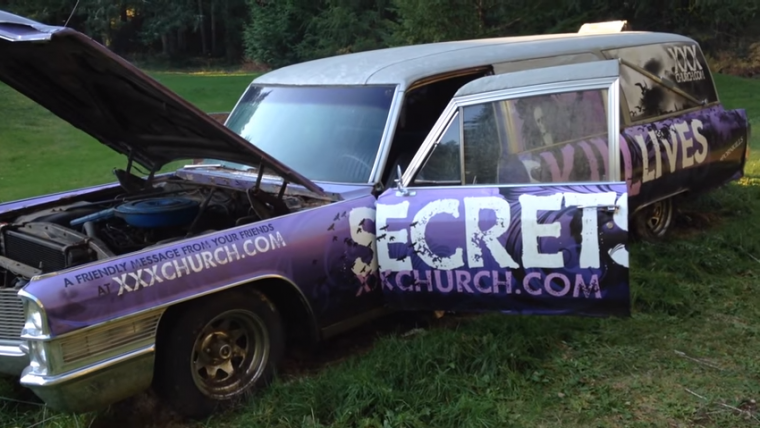 You Have A Shot To Own This Porn Kills Marriages Cadillac Hearse