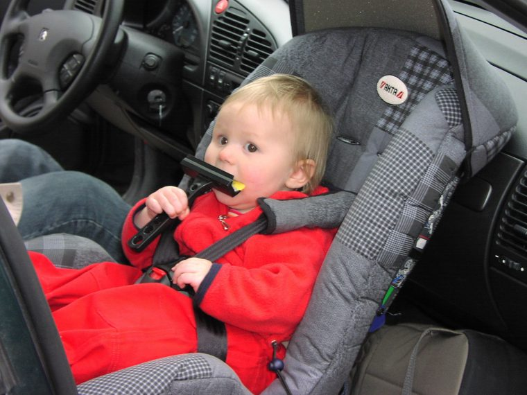 rear facing infant car seat safety