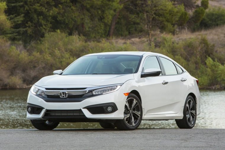 The 2016 Honda Civic Sedan Features A Starting MSRP Of 18640