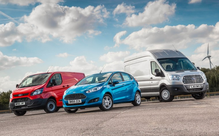 The Ford Transit range is second in UK total vehicle sales behind Fiesta