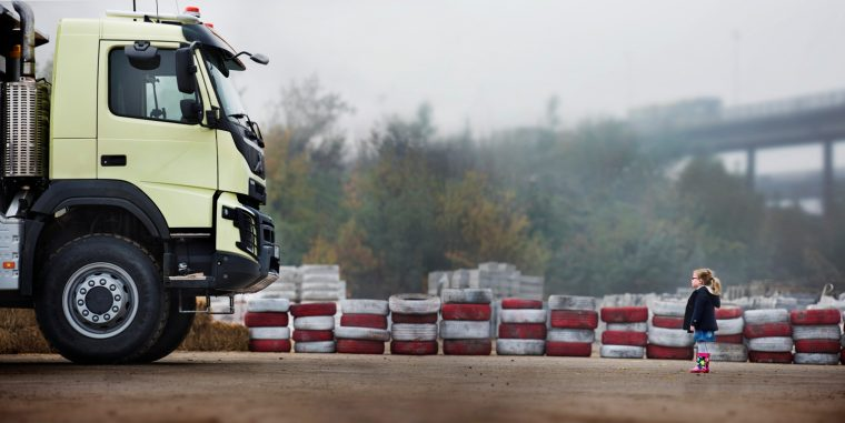 Volvo will be releasing a new YouTube video tomorrow promoting its powerful construction trucks
