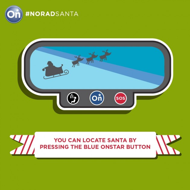 Santa Tracking though OnStar