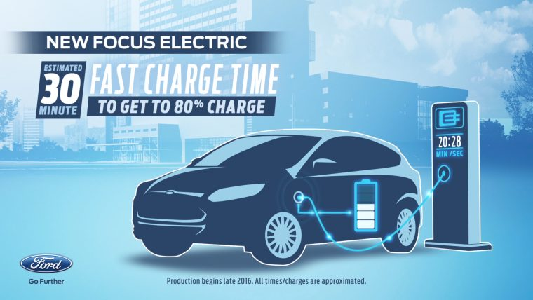 New Focus Electric Fast Charge Time