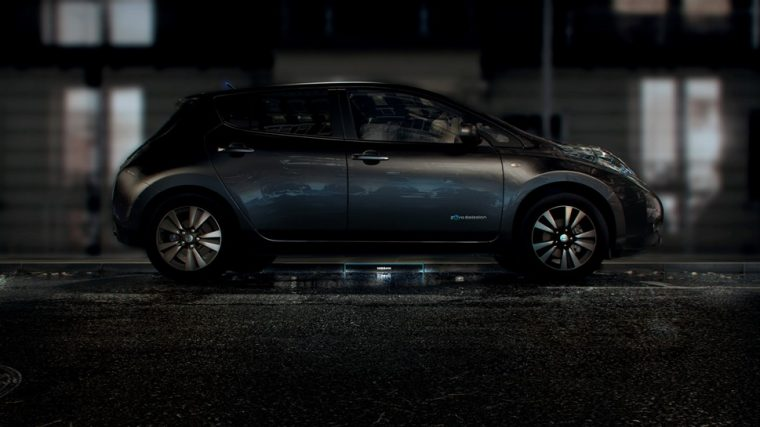 Nissan Charging Station of the Future
