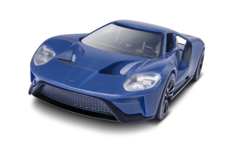 Ford GT Revell model snap kit NAIAS