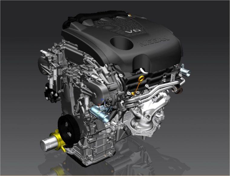 Nissan Maxima 3.5-liter V6 engine