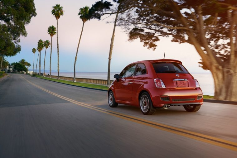 The 2016 Fiat 500 Turbo features a 135 horsepower engine