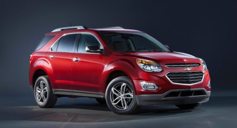 Power windows with express-down on all four doors comes standard on the 2016 Chevrolet Equinox