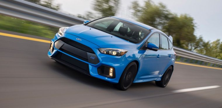 2016 Ford Focus RS action