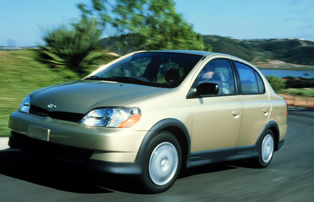 The 2001 Toyota Echo sedan