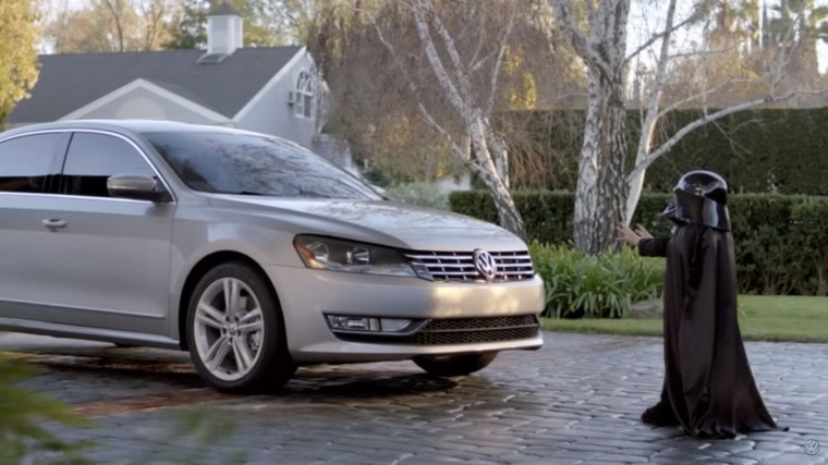 2011 Volkswagen Passat The Force star wars super bowl commercial
