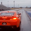 The Fireball Edition 2016 Chevy Camaro was caught on Camera completing a quarter mile at a drag strip in just 9.91 seconds