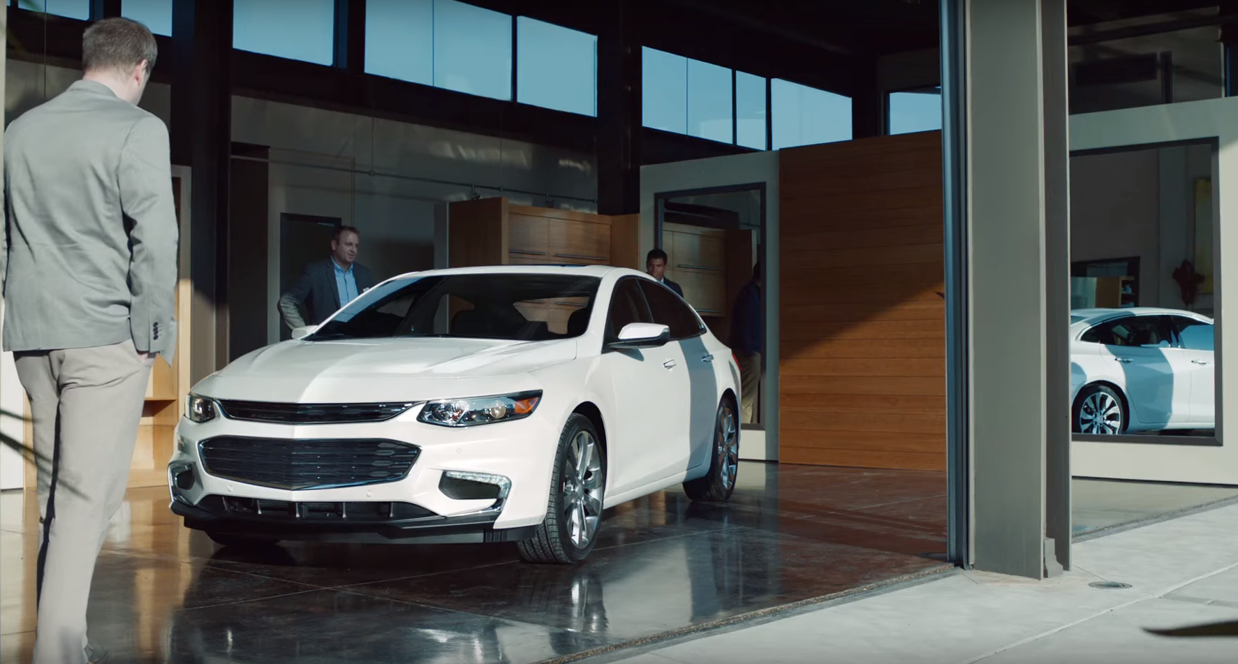 Chevy Commercial Insists The Malibu Is Not As Cry You Think Video News Wheel