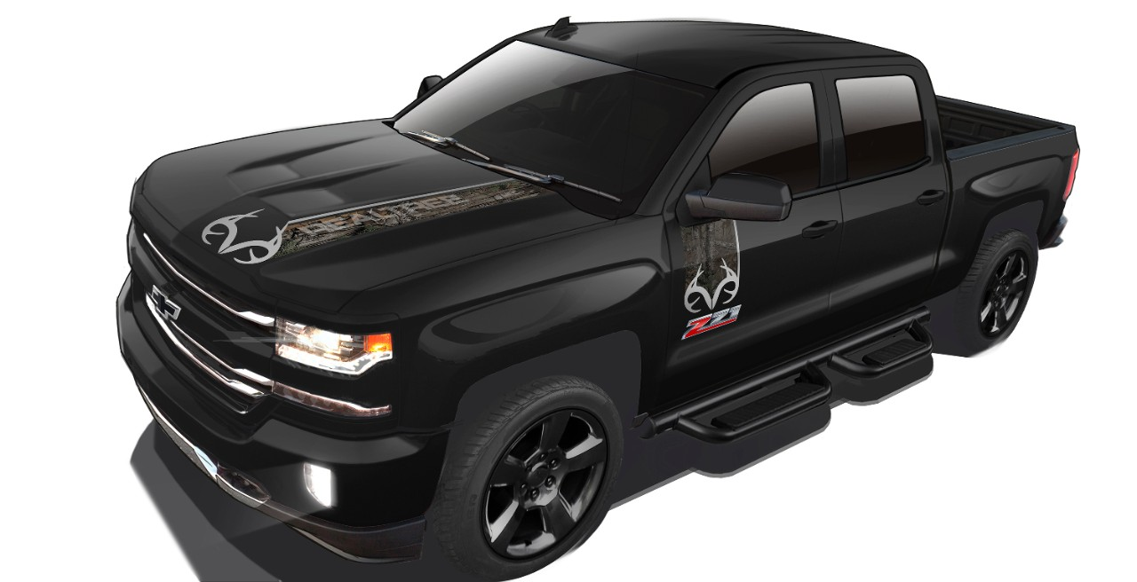 camo themed 2016 chevy silverado realtree edition introduced the news wheel. Black Bedroom Furniture Sets. Home Design Ideas