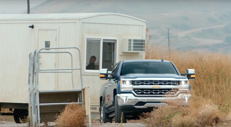 2016 Chevy Silverado commercial Trailer