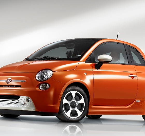 2016 Fiat 500e Overview