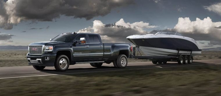The 2016 GMC Sierra 3500 HD pickup truck