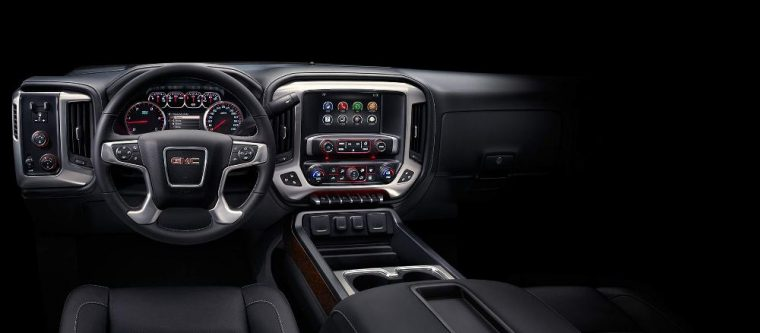 2016 GMC Sierra 3500 HD infotainment system