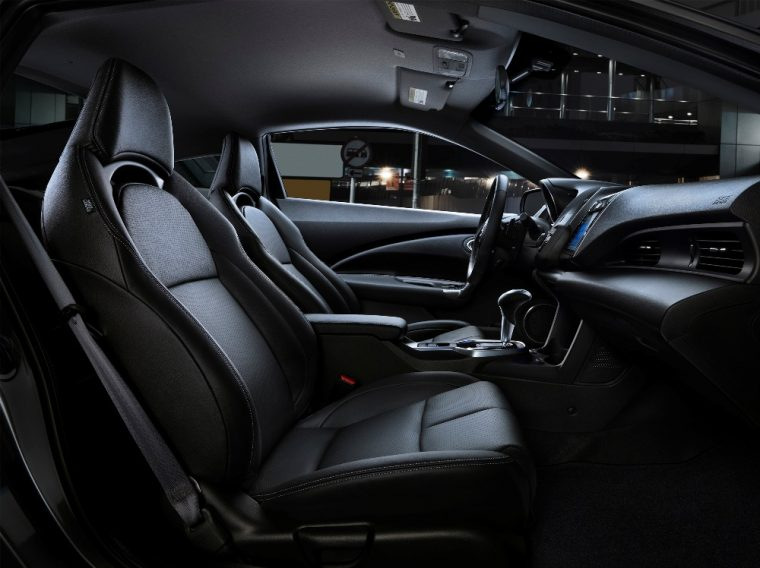 12-volt power outlets are featured inside the 2016 Honda CR-Z