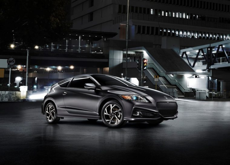 The 2016 Honda CR-Z features a .5-liter i-VTEC® in-line four-cylinder engine with electric motor and Lithium-Ion battery